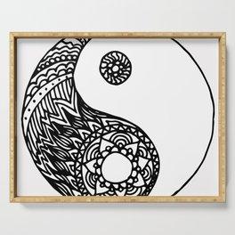 Tangled Yin Yang Serving Tray