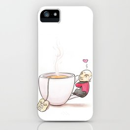 Tea, Earl Grey, Hot iPhone Case