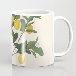 Lemon Branches II Coffee Mug