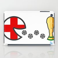 world cup iPad Cases featuring England World Cup 2014 by onejyoo