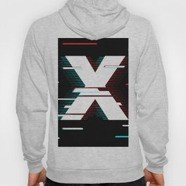 X futuristic poster Hoody