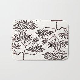 Bonsai Tree – Black Palette Bath Mat