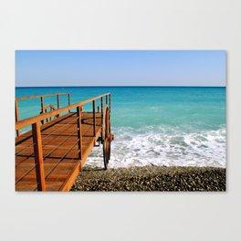La Mer Canvas Print
