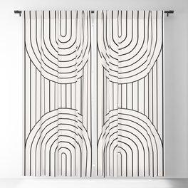 Arch Symmetry VI Blackout Curtain