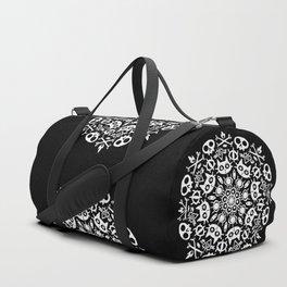 Cat Mandala Duffle Bag