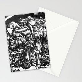 Desert Peaceable Kingdom Stationery Cards