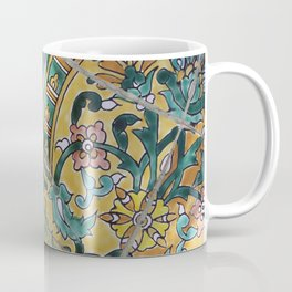 Foral Mosaik diagonal pattern Illustration Coffee Mug