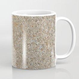 Urban Texture Photography - Yellow Painted Concrete Coffee Mug