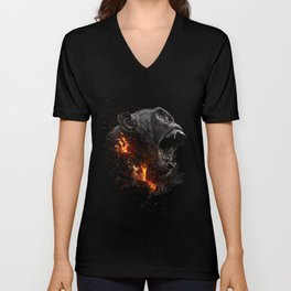 XTINCT x Monkey Unisex V-Neck