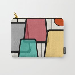 Mid-Century Modern Art Landscape 1.1 Carry-All Pouch