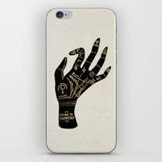 Palmistry iPhone & iPod Skin