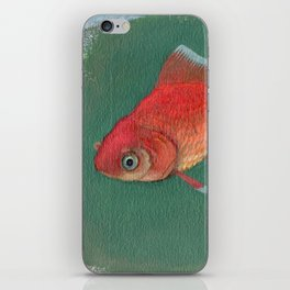 Goldfish #3 iPhone Skin