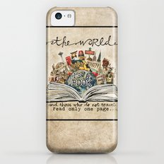 The World Is A Book iPhone 5c Slim Case