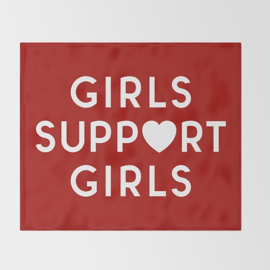 Girls Support Girls Feminist Quote by envyart