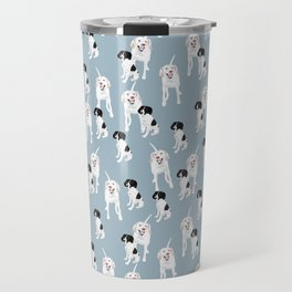 Penny and Cassie pattern Travel Mug