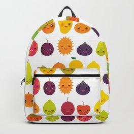 numbers for preschool kindergarten kids kawaii fruit from one to ten Backpack
