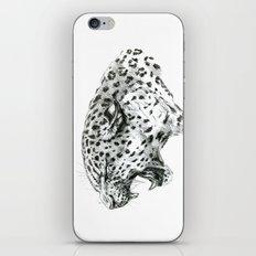 Panther roar sketch iPhone & iPod Skin