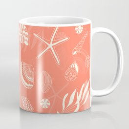 Sea shells patten Coffee Mug
