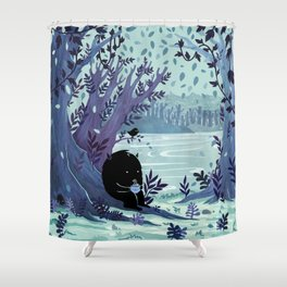 A Quiet Spot of Tea Shower Curtain