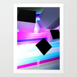 CUBIC PART TWO Art Print
