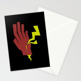 Stopping Lightning Stationery Cards