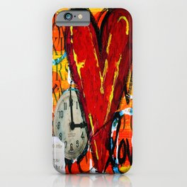Time for Love iPhone Case