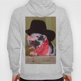 Puppy Cowboy Baby Piglet Farm Animals Babies Hoody