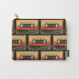 awesome transparent mix cassette tape vol 1 Carry-All Pouch