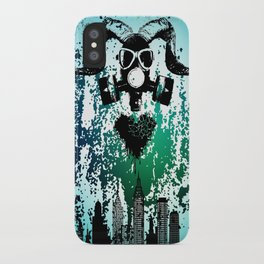Polluted Soul iPhone Case
