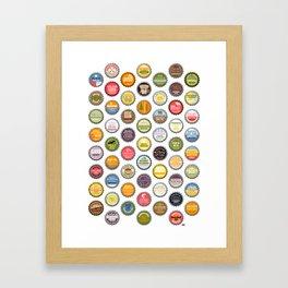 Soda Nation Framed Art Print
