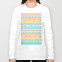 egyptian Long Sleeve T-shirts featuring Egyptian II by Louise Machado