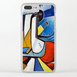 La Vie est Belle en Couleurs Primaires Clear iPhone Case