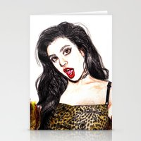charli xcx Stationery Cards featuring CHARLI XCX II: SUCKER by Share_Shop