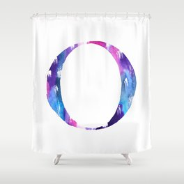 Letterforms O : Olivia Shower Curtain