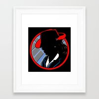 agent carter Framed Art Prints featuring Agent Carter by offbeatzombie