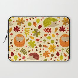 Hedghogs and Chestnuts Laptop Sleeve