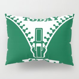 Lab No. 4 - Fat Today Fit Tomorrow Gym Motivational Quote Poster Pillow Sham