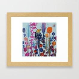 juste ici Framed Art Print