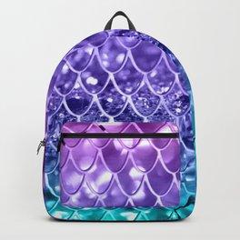 Mermaid Scales on Unicorn Girls Glitter #19 #shiny #decor #art #society6 Backpack