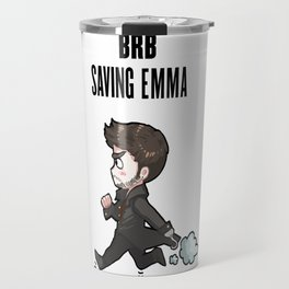 BRB Saving Emma Travel Mug