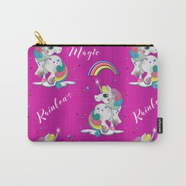 Pink Unicorn Magic Carry-All Pouch