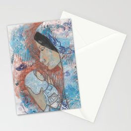 The Word by patsy paterno Stationery Cards