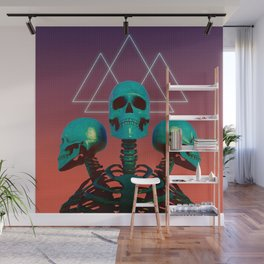 Skelly Belly Wall Mural