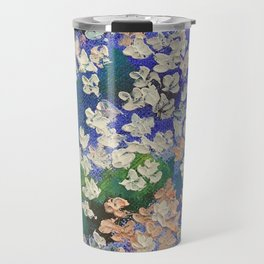 Sakura Oil Painting Travel Mug