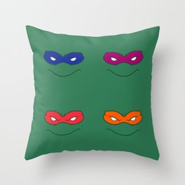 Ninja Turtles Throw Pillow