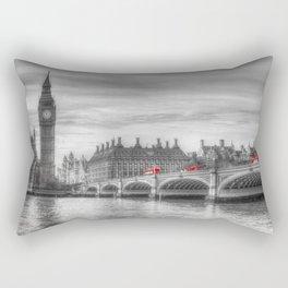 Westminster Bridge and Big Ben Rectangular Pillow