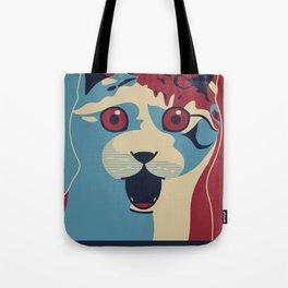 ✩ The OMG Cat Poster Tote Bag