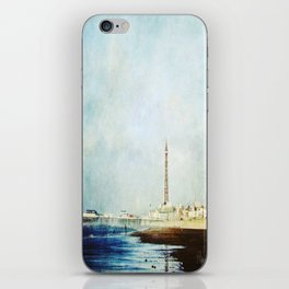On The Front Textured Fine Art Photograpy iPhone Skin