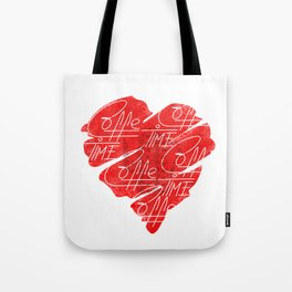 Old heart of coffee V T Shirts Tote Bag