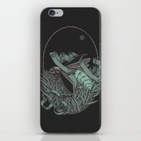 firefly iPhone & iPod Skins featuring Firefly  by BEADLER Design and Illustration